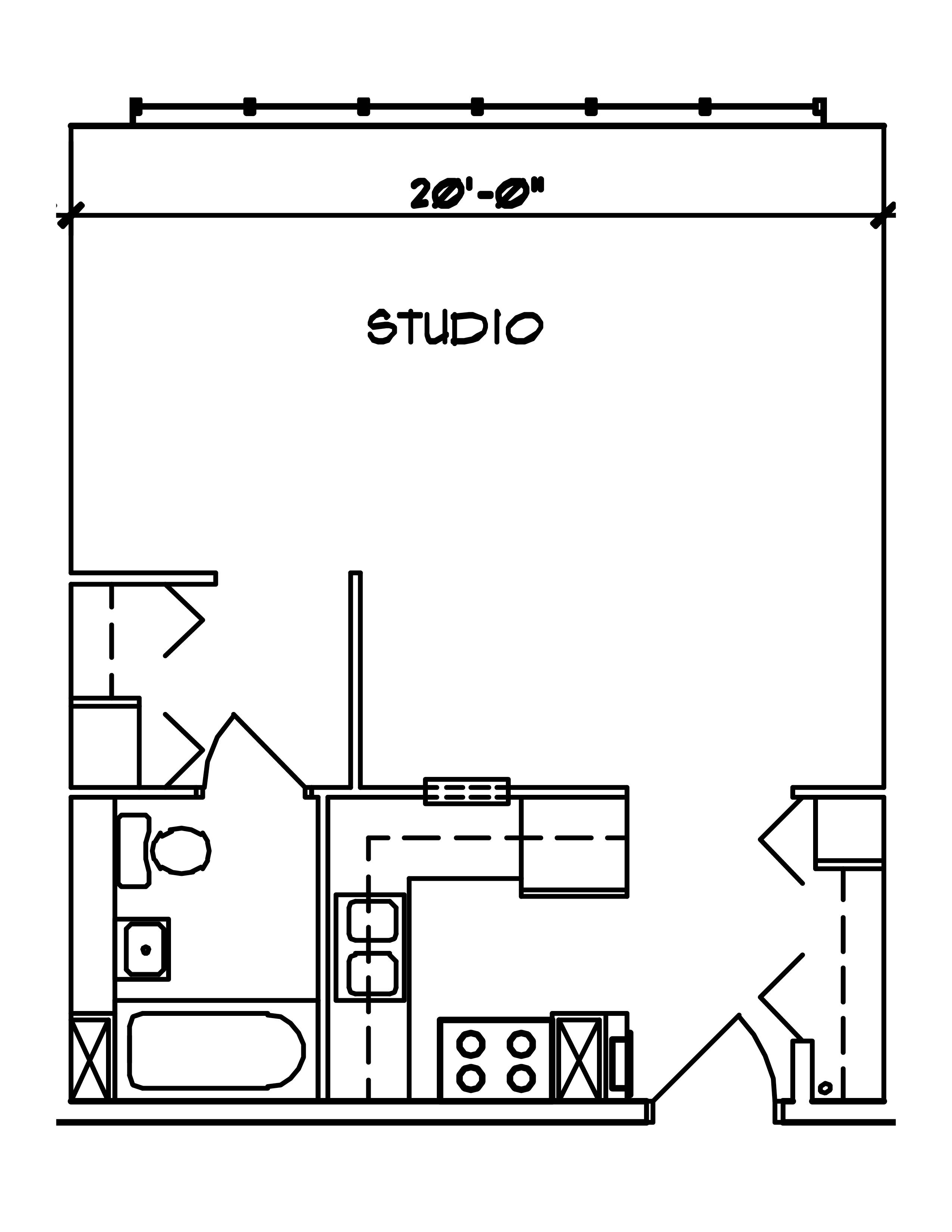 Le Blueprint Bedroom Studio